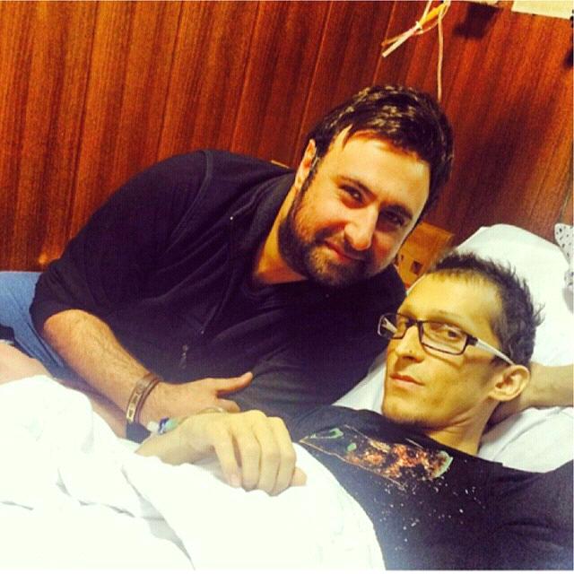 عکسهای جدید مرتضی پاشایی در بیمارستان