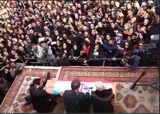 فیلم تشییع پیکر مرتضی پاشایی