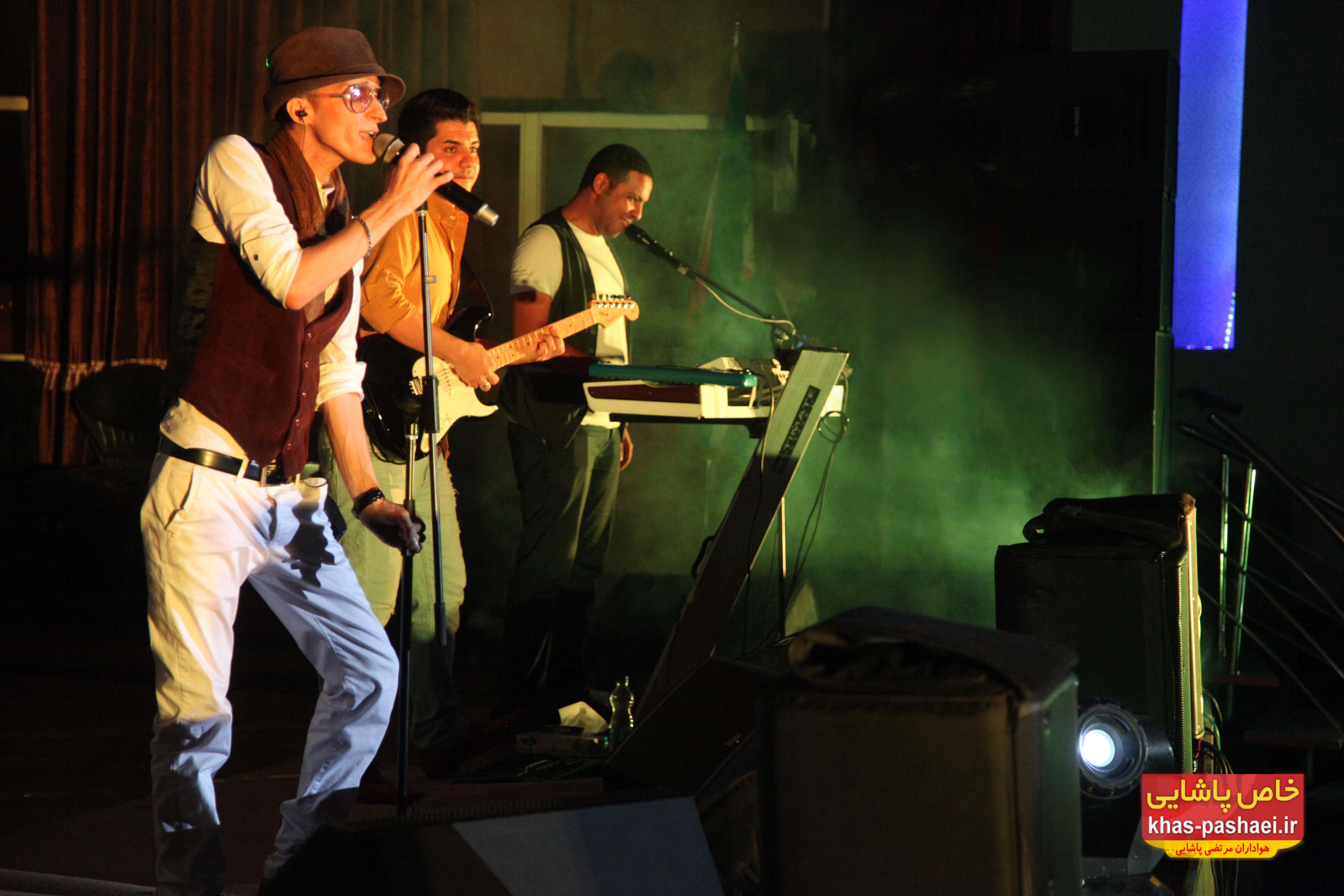 عکسهایی از کنسرت مرتضی پاشایی در اراک