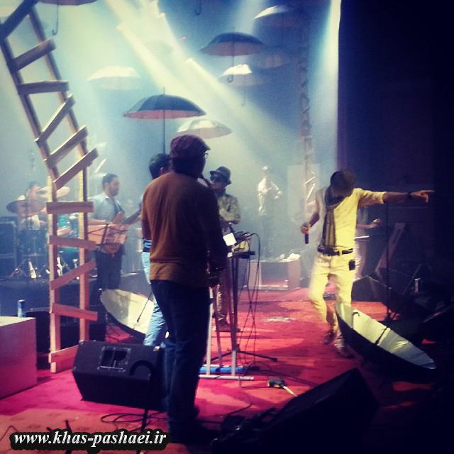 عکس کنسرت 18 مهر مرتضی پاشایی در بندر عباس