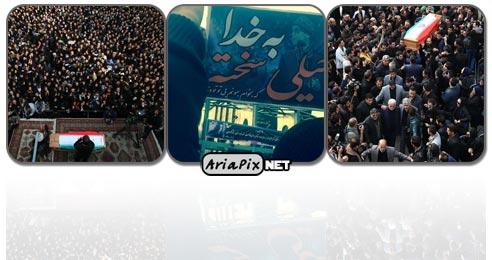 عکسهای مراسم تشییع مرحوم مرتضی پاشایی