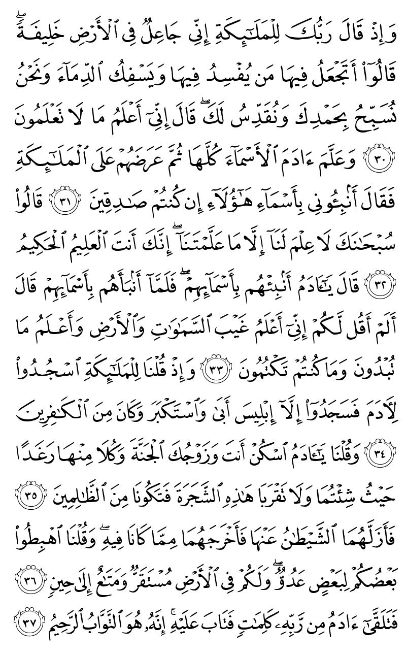 تلاوت صفحه ششم قرآن کریم هدیه به مرتضی پاشایی