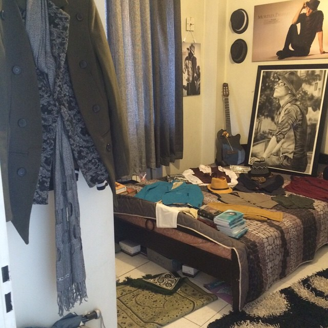 عکس های اتاق مرتضی پاشایی