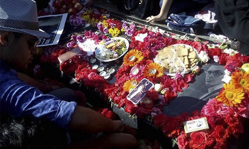عکس های جشن تولد مرتضی پاشایی