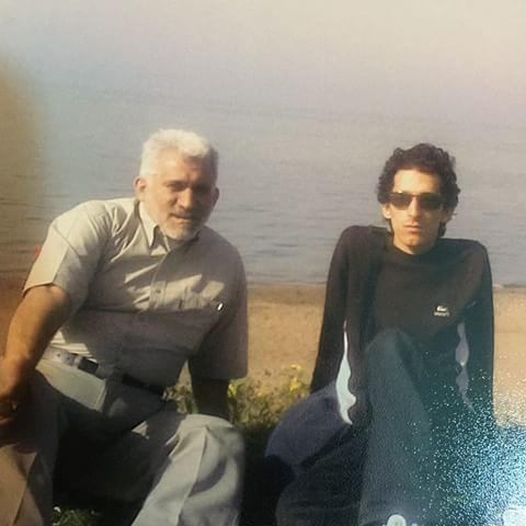 دلتنگی های پدر مرتضی پاشایی+عکس