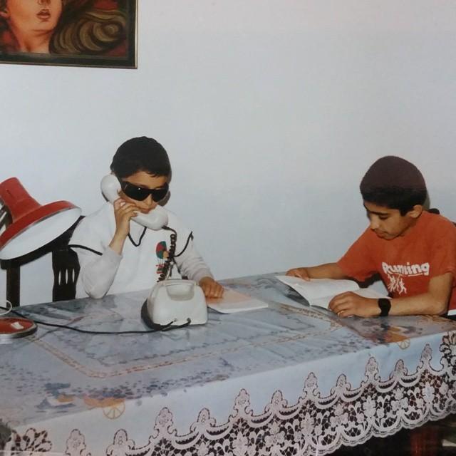 پست اینستاگرام مرتضی پاشایی(بیست سال پیش)
