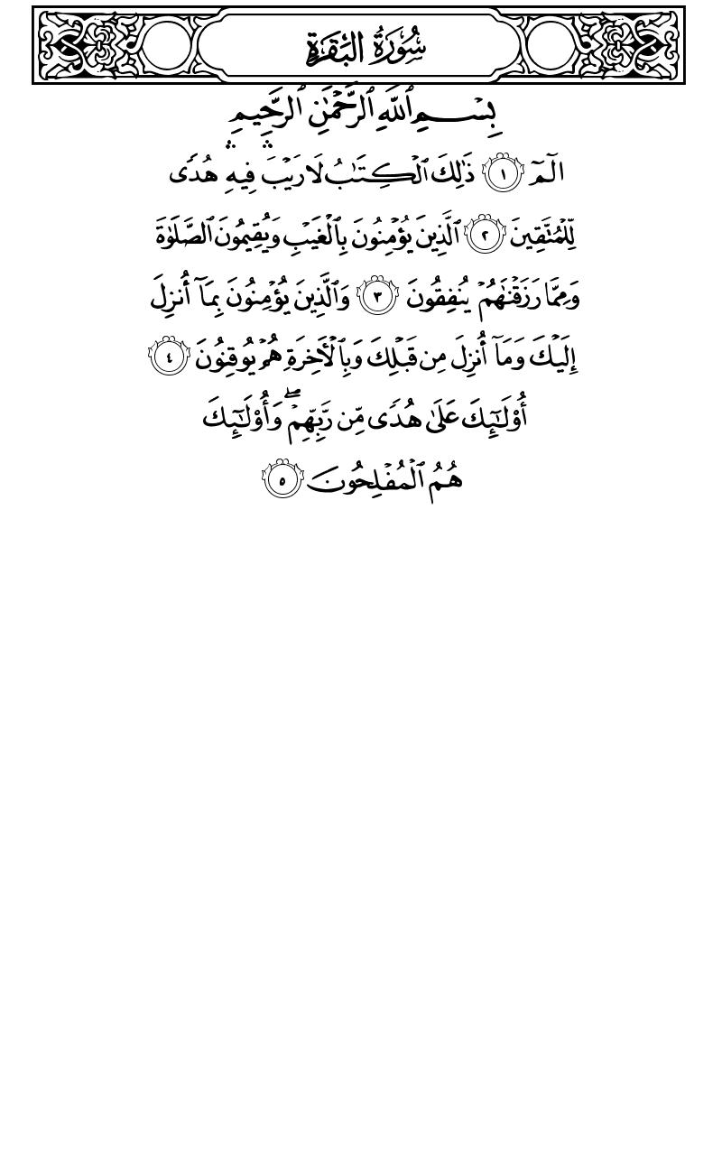 تلاوت صفحه دوم قرآن کریم هدیه به مرتضی پاشایی